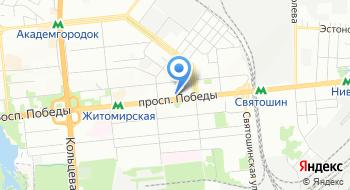 Государственная служба Украины по лекарственным средствам и контроля по наркотикам на карте
