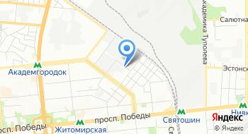 Компания Континент-профи, склад на карте