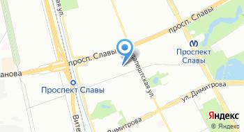Детский сад № 55 Комбинированного Вида Фрунзенского района Санкт-петербурга на карте
