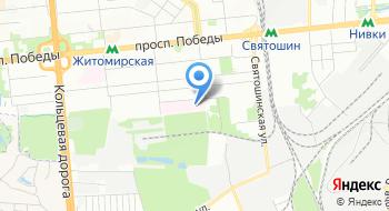 Киевская городская клиническая больница №5 на карте