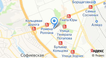 Территориальный отдел полиции № 2 Святошинское УП Гунп Украины в г. Киеве по обслуживанию жилого массива Южная Борщаговка на карте