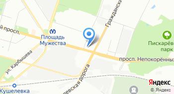 Алмин на карте