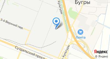 Техснаб СПб, склад на карте
