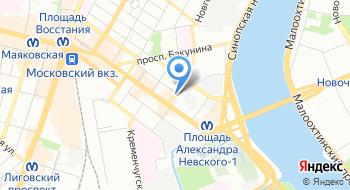 Юлана на карте