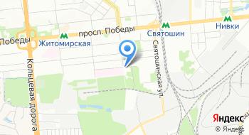 Военкомат Киево-Святошинского района на карте