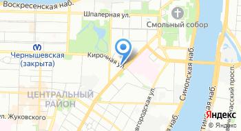 Агентство занятости населения Центрального района Санкт-Петербурга на карте