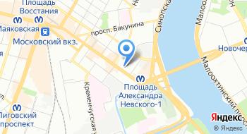 Администрация Центрального района Санкт-Петербурга на карте