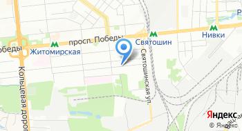 Всеукраинская благотворительная организация центр эндогенного дыхания Долгожитель на карте