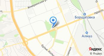 Парк аттракционов на карте