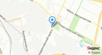 Управление специальной связи по городу Санкт-Петербургу Ленинградской области на карте