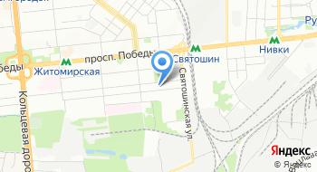 Государственная налоговая инспекция в Святошинском районе государственной фискальной службы в городе Киеве на карте
