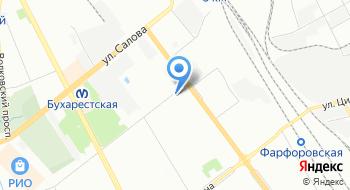 Торговый дом Русские краски-СПб на карте
