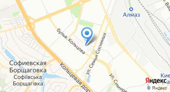 Поликлиника № 2 Святошинского района Детская медицинская неотложная помощь на карте
