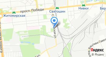 КП Святошинское лесопарковое хозяйство на карте
