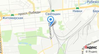 Магазин автозапчастей Киевоблагротехснаб на карте