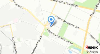 Лаборатория ветеринарно-санитарной экспертизы Полюстровского рынка на карте