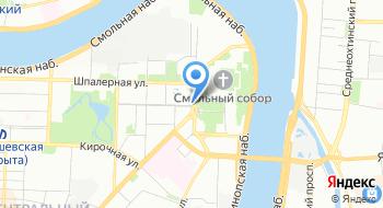 Ресторан Смольнинский на карте