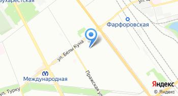 Интернет-магазин Постельное белье на карте