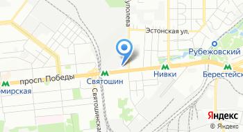 Серийный завод Антонов на карте
