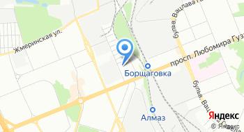 Украинская геодезическая компания на карте