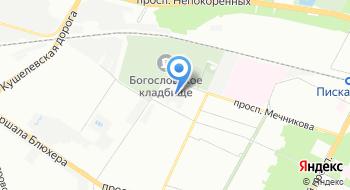 Нордгаз на карте