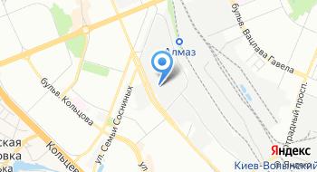 Компания Парсек на карте