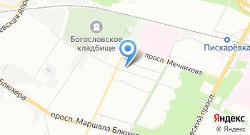 ГБУЗ ГП №17 Отделение выездной службы хосписа Красногвардейского района на карте