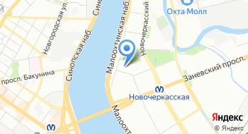 Банк Санкт-Петербург, ДО Центральный на карте
