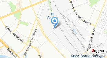 Установочный центр Автопленка-Киев на карте