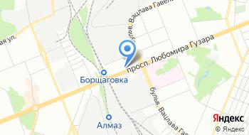 Управление магистральных газопроводов Киевтрансгаз на карте