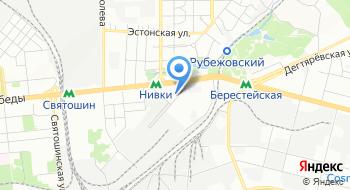 Компания Теплодар Украина на карте