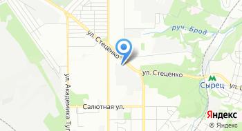 Киевоблэнерго на карте
