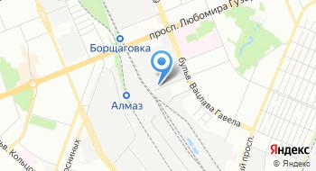 Хладокомбинат №4 на карте
