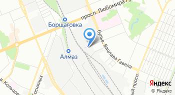 Компания Пинта, склад на карте