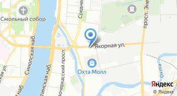 Пансионат для пожилых Павловский, офис на карте