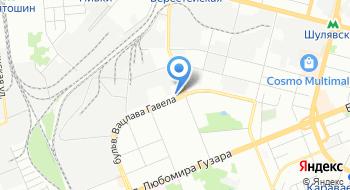 Киевская городская таможня ГФС на карте