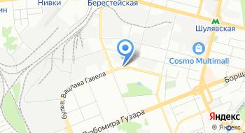 Станция зарядки электромобилей E-line на карте