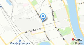 Октябрьский электровагонноремонтный завод на карте