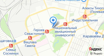Магазин снаряжения для дайвинга Акваланг на карте