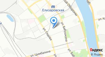 Охранное предприятие Петербург Безопасность на карте