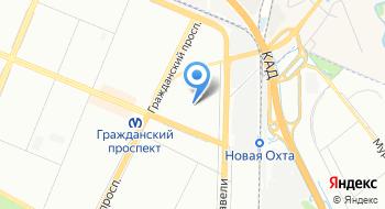 Такси Позитив на карте