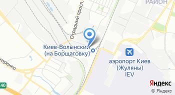 Компания Укрбиоэкология на карте