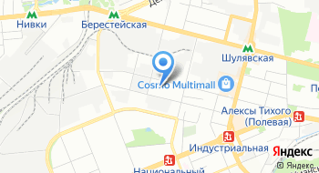 Отделение медико-социальной и трудовой реабилитации психически больных Киевского городского психоневрологического диспансера №4 на карте