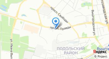 Магазин Укрбильярд на карте