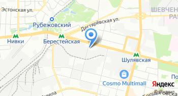 Территориальный отдел полиции № 2 Соломенское РУ ГУ МВД Украины в городе Киеве по обслуживанию микрорайона Шулявка на карте