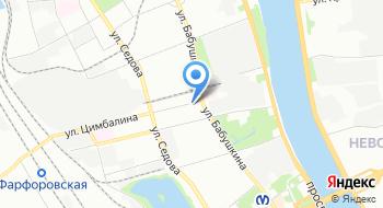 ОГИБДД УМВД России по Невскому району на карте