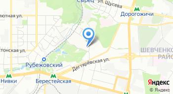 Посольство США в Украине на карте