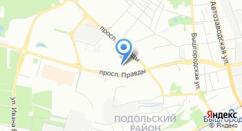 Детская поликлиника №2 Подольского района на карте