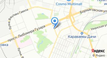 Киевское воздухоплавательное общество на карте