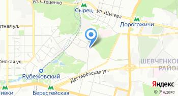 Государственная средняя художественная Школа им. Т.Г. Шевченко, общежитие на карте